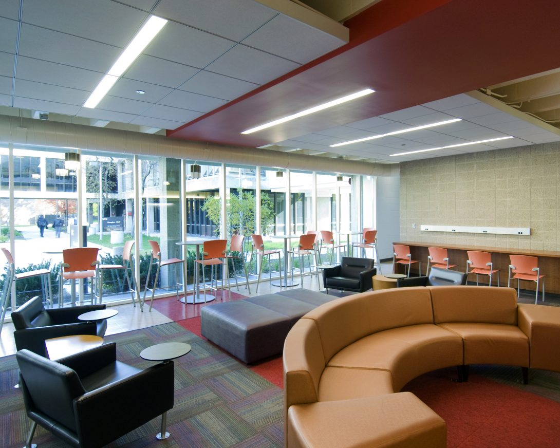 Open campus student space
